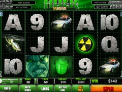 The Incredible Hulk 50 Lines 77tragamonedas.com Playtech 3/5