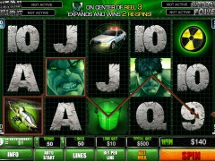 The Incredible Hulk 50 Lines 77tragamonedas.com Playtech 5/5
