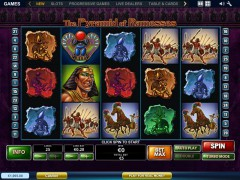The Pyramid of Ramesses 77tragamonedas.com Playtech 1/5