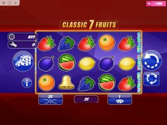 Classic7Fruits 77tragamonedas.com MrSlotty 1/5
