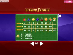 Classic7Fruits 77tragamonedas.com MrSlotty 5/5