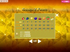 Golden7Fruits 77tragamonedas.com MrSlotty 5/5