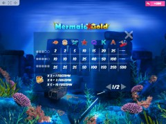 Mermaid Gold 77tragamonedas.com MrSlotty 5/5