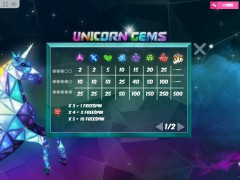 Unicorn Gems 77tragamonedas.com MrSlotty 3/5