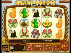 Crazy Coyote - iSoftBet